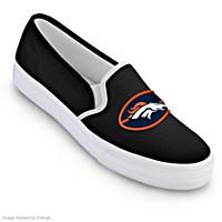 Denver Broncos Fashion & Football Women\'s Shoes