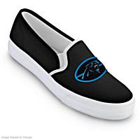Carolina Panthers Fashion & Football Women\'s Shoes