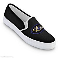 Baltimore Ravens Fashion & Football Women\'s Shoes