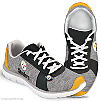 Winning Style Pittsburgh Steelers Women\'s Shoes