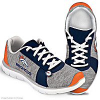 Winning Style Denver Broncos Women\'s Shoes