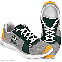 Winning Style Green Bay Packers Women\'s Shoes