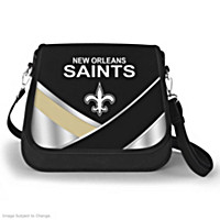 New Orleans Saints Fashion Snap Handbag