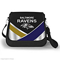 Baltimore Ravens Fashion Snap Handbag