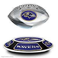 Baltimore Ravens Levitating Football Sculpture