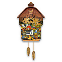 Country Charm Wall Clock