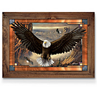 The Wings Of Power Stained Glass Wall Decor