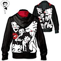 Sassy Style Betty Boop Women\'s Hoodie