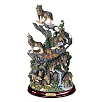 Forest Guardians\' Domain Sculpture