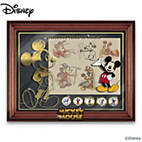 Disney Mickey Mouse Years Of Magic Wall Decor