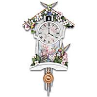Garden Grace Cuckoo Clock