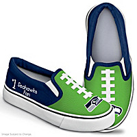 NFL Kids Seattle Seahawks Shoes