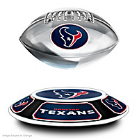 Houston Texans Levitating Football Sculpture