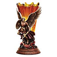St. Michael: Dragon Slayer Sculpture