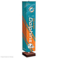 Miami Dolphins Floor Lamp