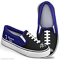 NFL Kids Baltimore Ravens Shoes
