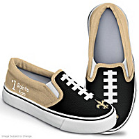 NFL Kids New Orleans Saints Shoes
