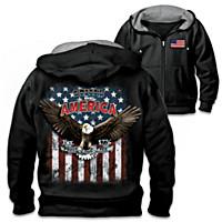 American Patriot Men\'s Hoodie