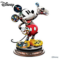 Disney Mickey Mouse\'s Magical Moments Sculpture