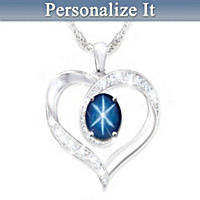 Daughter, Find Your Own Star Personalized Pendant Necklace