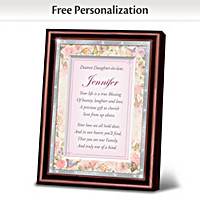 My Dearest Daughter-In-Law Personalized Poem Frame