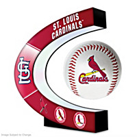 St. Louis Cardinals Levitating Baseball Sculpture