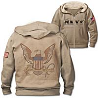 Military Pride Navy Men\'s Hoodie