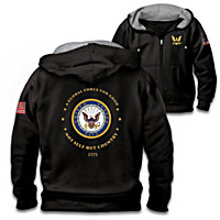 Proud To Serve U.S. Navy Men\'s Hoodie