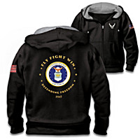 Proud To Serve U.S. Air Force Men's Hoodie