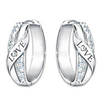 Hugs Of Love Diamond Earrings