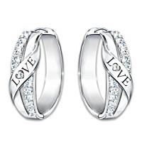 Hugs Of Love Diamond Earrings