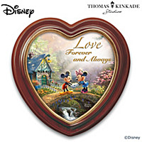 Disney Thomas Kinkade Sweetheart Bridge Wall Decor