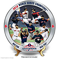 2018 World Series Champions Red Sox Collector Plate