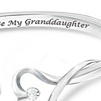 Always My Granddaughter Diamond Bracelet