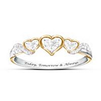 Today, Tomorrow & Always Diamond Ring