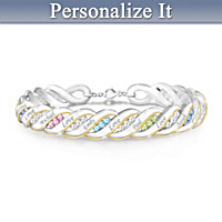 Waves Of Love Personalized Bracelet