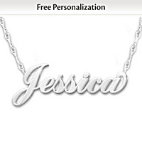 Uniquely Yours Personalized Diamond Necklace
