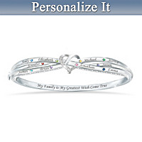 Brightest Wishes Personalized Bracelet