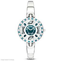 Philadelphia Eagles Women\'s Rotating Watch