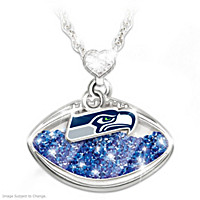 Seattle Seahawks Pride Pendant Necklace