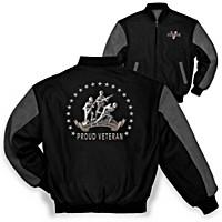 Veteran Pride And Brotherhood Men\'s Jacket