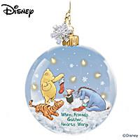 Disney When Friends Gather, Hearts Warm Ornament