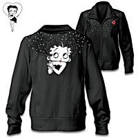 Dazzling Betty Boop Women\'s Jacket