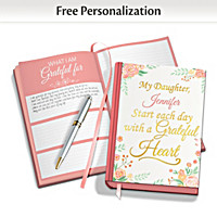 Inspirations Personalized Gratitude Journal