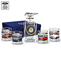 Ford Mustang Decanter Set