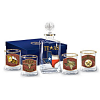 Spirit Of Texas Decanter Set