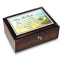 Irish Blessings Music Box