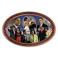 President Barack Obama 10th Anniversary Collector Plate