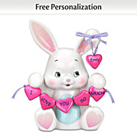 Some Bunny Loves You Personalized Figurine