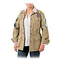 Wildlife Safari Women\'s Jacket